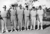 Picture relating to Rathdowney - titled 'Rathdowney tennis team, ca. 1934'