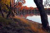 Picture relating to Yarrie Lake - titled 'Yarrie Lake sunset'