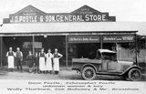 Picture relating to Eagle Junction - titled 'Eagle Junction store of J.D.Postle/Brisbane'