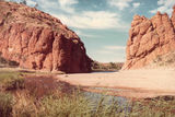 Picture relating to Glen Helen Gorge - titled 'Glen Helen Gorge'