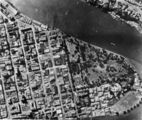 Picture relating to Brisbane - titled 'Aerial photograph of Brisbane, 1942'