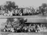 Picture relating to Charleville - titled 'Break-up picnic at Charleville State School, 1916'
