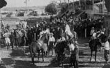 Picture relating to Winton - titled 'Race day in Winton, ca. 1912'