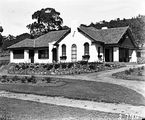 Picture relating to Red Hill - titled 'Oakley and Parkes house, 18 Mugga Way, Red Hill, built by John Deans.'