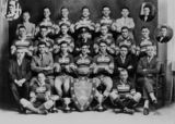 Picture relating to Tully - titled 'Brothers Senior Football Team from Tully, Premiers and Cup Winners in 1930'