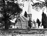 Picture relating to Reid - titled 'St John's Church, Constitution Avenue Reid, from Anzac Park.'