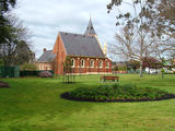 Picture relating to St Arnaud - titled 'Rear of Uniting Church St Arnaud'