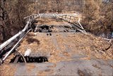 Picture relating to Cotter River - titled 'Cotter River Bridge after the 2003 fire.'