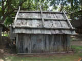 Picture relating to Gympie - titled 'Bark hut'