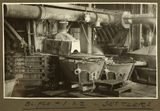 Picture relating to Mount Isa - titled 'Interior view of part of the smelter at Mt. Isa Mines, 1932'