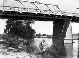 Picture relating to Molonglo River - titled 'Commonwealth Avenue Bridge from the Molonglo River'