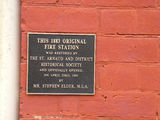 Picture relating to St Arnaud - titled 'St Arnaud Fire Station Plaque'