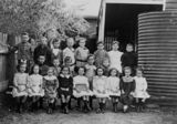 Picture relating to Gympie - titled 'Students at One Mile State School, Gympie, Queensland, 1912'