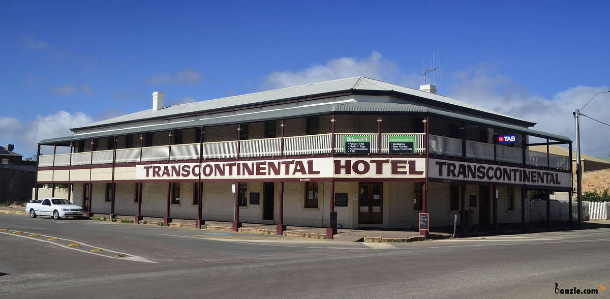 Picture of / about 'Quorn' South Australia - Transcontinental Hotel Quorn
