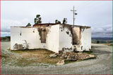 "Picture relating to Mount Stromlo Observatory - titled 'Fire Ruins of the 9"" Oddie Refractor -  Mount Stromlo Observatory'"