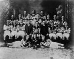 Picture relating to Charters Towers - titled 'Natives Rugby Union Football Team from Charters Towers, Minor Junior Premiers in 1910'