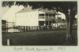 Picture relating to Townsville - titled 'Flying Squadron boat shed in Townsville, 1925'