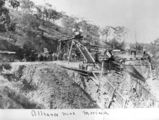 Picture relating to Morinish - titled 'Alliance Mine in operation at Morinish, Queensland, ca. 1890'