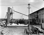 Picture relating to Canberra - titled 'Timber yard behind the Canberra Power House, Kingston.'