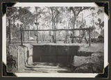 Picture of / about 'Rollingstone' Queensland - Improvised bush showers at the Rollingstone army camp, Queensland, 1943