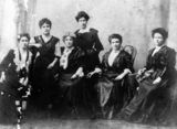 Picture relating to Gympie - titled 'Ladies of the McConnell family'