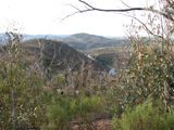 Picture relating to Bullen Range Nature Reserve - titled 'Looking down on the Murrumbidgee River from the Bullen Range'