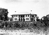 Picture relating to Deakin - titled 'Prime Minister's Lodge from the north, Adelaide Avenue, Deakin.'