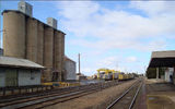 Picture of / about 'Donald' Victoria - Wheat Silo freight centre and railway station Donald
