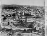 Picture of / about 'Brisbane' Queensland - View of Brisbane city's central business district, ca.1883