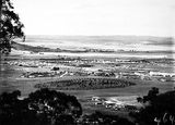 Picture relating to Duntroon - titled 'View from Red Hill over Collins Park, Manuka and Kingston toward Duntroon.'