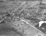 Picture relating to Beenleigh - titled 'Aerial view of Beenleigh, 1954'