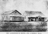 Picture relating to Muttaburra - titled 'Landsborough Hotel in Muttaburra'