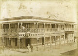 Picture relating to Mosman Street - titled 'Royal Hotel, corner of Mosman and Marion Street'
