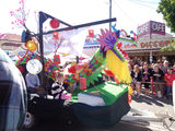 Picture relating to Gayndah - titled 'Gayndah Festival Procession'