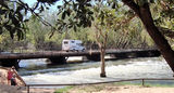 Picture relating to Katherine - titled 'Low level Katherine River Crossing Katherine'