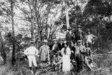 Picture relating to Tamborine Mountain - titled 'John George and group at Tamborine Mountain'