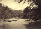 Picture of / about 'Brisbane River' Queensland - Going down the rapids in the upper reaches of the Brisbane River