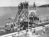 Picture of / about 'Manly' Queensland - Manly Swimming Pool, Brisbane, 1936