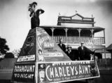 Picture relating to Bundaberg - titled 'Promotional float for Paramount Theatre, Bundaberg'