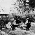 Picture relating to Capalaba - titled 'Afternoon tea at Capalaba Creek, 1918'