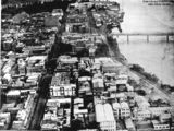 Picture of / about 'Brisbane' Queensland - Aerial view of George Street, Brisbane, 1923