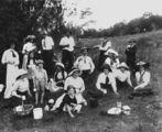 Picture relating to Maroochydore - titled 'Picnic at Maroochydore, 1915'