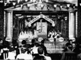 Picture relating to Brisbane - titled 'Children's theatre production at the Hellenic Club, Brisbane, 1928'