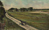 Picture of / about 'Cleveland' Queensland - Horsedrawn carriage on a country road at Cleveland
