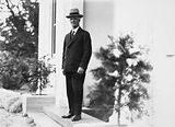 Picture relating to Scullin - titled 'Prime Minister Rt Hon J. H Scullin at Government House, Yarralumla.'