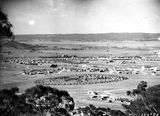 Picture relating to Manuka - titled 'View from Red Hill over Manuka and Kingston from Red Hill, Collins Park in foreground.'