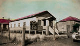 Picture relating to Cloncurry - titled 'Methodist church hall and parsonage at Cloncurry'
