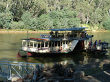 Picture relating to Echuca - titled 'Paddle Boat 'Pride of the Murray' at dock in Echuca'