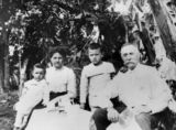 Picture relating to Peachester - titled 'Bretson Family, 1913'