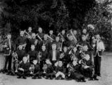 Picture relating to Barcaldine - titled 'Brass band from Barcaldine, Queensland, ca. 1900'